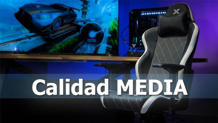 sillas gaming de calidad media