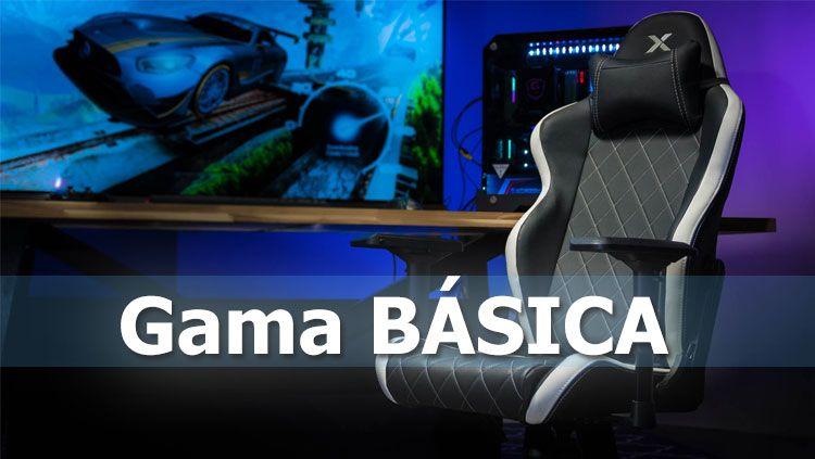 sillas gaming gama basica