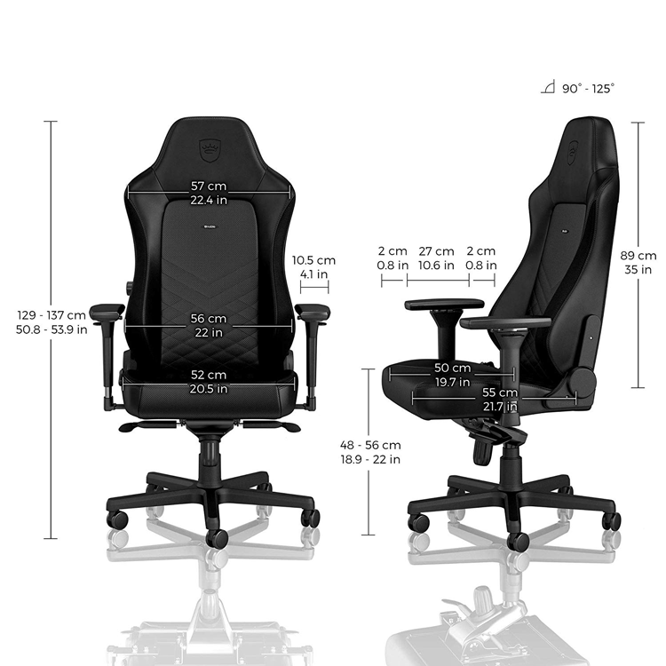 noble chair medidas