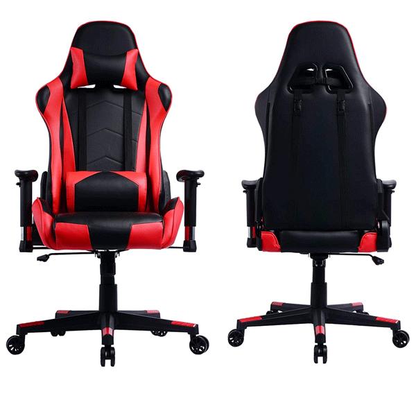 La silla gaming prime selection por delante y detrás